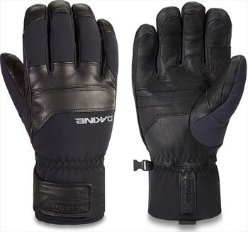 Dakine Excursion Short Gore-Tex Snowboard/Ski Gloves, L Black