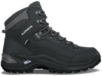 Lowa Adult Unisex Renegade Gtx Mid Men's Gore-Tex Hiking Boots, Uk 13 Deep Black