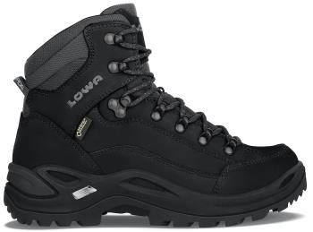 Lowa Womens Renegade Gore-Tex Mid Women's Hiking Boots, Uk 7.5 Deep Black
