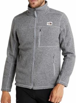 The North Face Adult Unisex Gordon Lyons Fleece Full-Zip Jacket, Xl Grey Heather