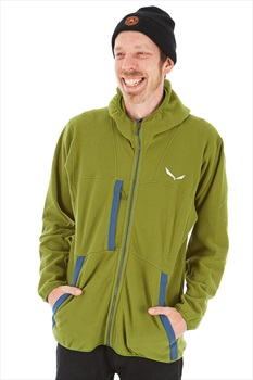 Salewa Antelao Polartec Men's Full Zip Fleece Hoody L Cedar Green