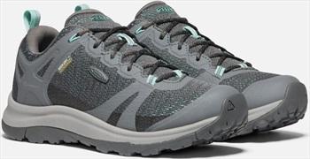 Keen Terradora II WP Women's Walking Shoes, UK 4 Steel Grey/Ocean
