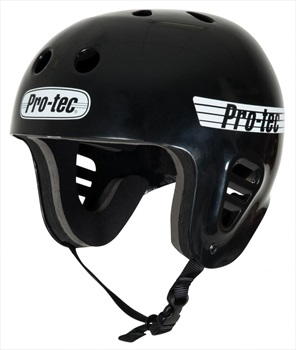 Pro-tec Classic Full Cut Watersports Helmet, XL Gloss Black 2020