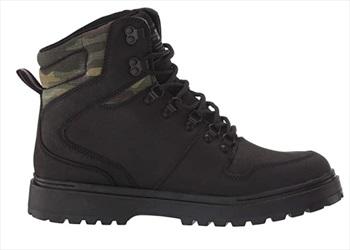 DC Adult Unisex Peary Men's Winter Boots, Uk 9.5 Black/Camo