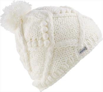 Burton Chloe Women's Ski/Snowboard Bobble Hat, One Size Stout White