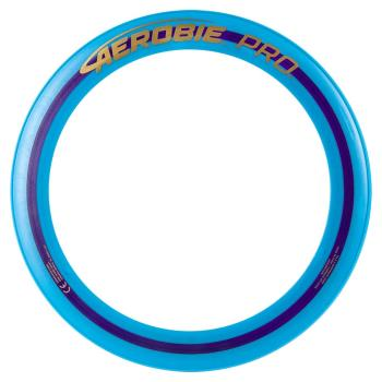 Aerobie Pro Flying Ring, 13-inch (33 cm) Blue, Thrown Outdoor Toy