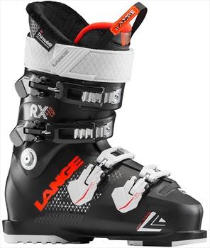 Lange RX 110 W L.V. Women's Ski Boots, 25/25.5 Black/Orange 2019