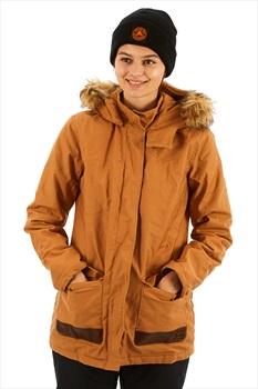 Roxy Travelling West Women's Cotton Parka Jacket, S Chipmunk