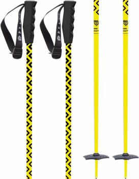 Black Crows Meta Pair Of Ski Poles, 120cm Yellow