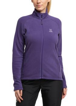 Haglofs Astro Women's Microfleece Jacket, L Purple Rain
