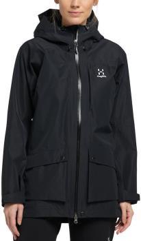 Haglofs Rubus Women's Waterproof Gore-Tex® Jacket, UK 10 True Black