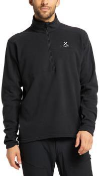 Haglofs Buteo 1/2 Zip Men's Fleece Jacket, S True Black