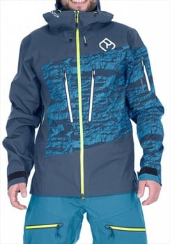 Ortovox 3L Guardian Shell Ski/Snowboard Jacket, L Night Blue