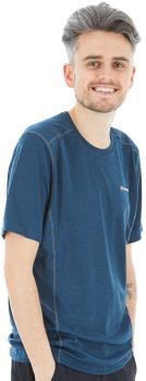 Montane Adult Unisex Dart Technical Short Sleeve T-Shirt, S Orion Blue