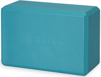 Gaiam Essentials Yoga/Pilates Block, Vivid Blue