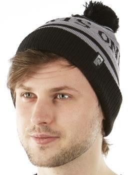 Rome Experts Only Ski/Snowboard Cotton Beanie, Grey/Black