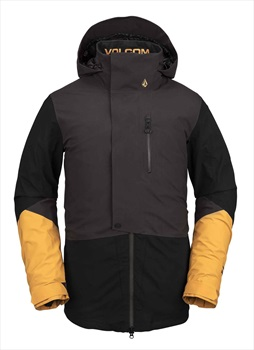 Volcom BL Stretch Ski & Snowboard Gore-Tex Jacket L Vintage Black