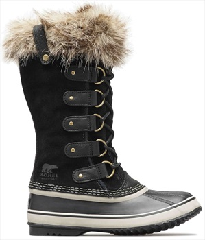 Sorel Joan Of Arctic Women's Snow Boots, UK 3 Black/Stone