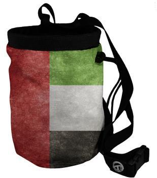 Charko Flag Bags Rock Climbing Chalk Bag, Regular Emirates