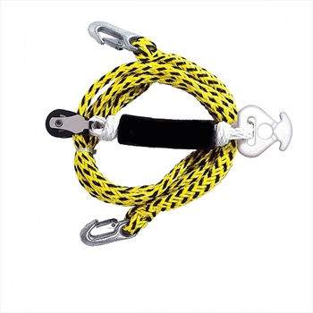 Base Tube Tow Harness With Pulley, W/ Pulley Yellow Black