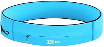 FlipBelt Zipper Running Belt, S Aqua