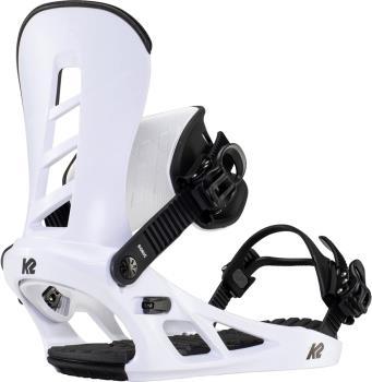 K2 Sonic Snowboard Bindings, XL White 2021