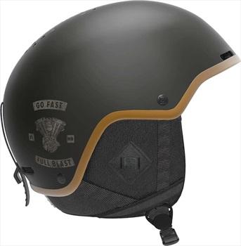 Salomon Brigade+ Snowboard/Ski Helmet, S Cafe Racer