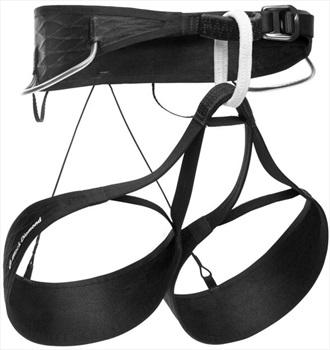 Black Diamond AirNET Rock Climbing Harness, L Black/White