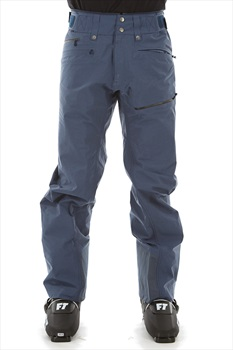 Norrona Roldal Gore-Tex Ski/Snowboard Pants, L Indigo Night