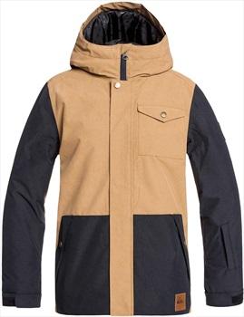 Quiksilver Ridge Kid's Ski/Snowboard Jacket, Age 12 Otter