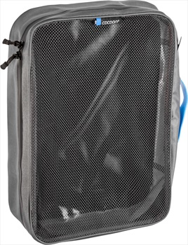 Cocoon Packing Cube With Open Net Top Travel Organiser, Large Black