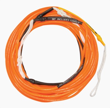 Hyperlite A Line Wakeboard Line, 80' Orange