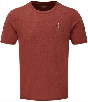 Montane Adult Unisex X Bmc Trad Short Sleeve Climbing T-Shirt, L Redwood