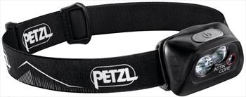Petzl Actik CORE IPX4 Headtorch, 450 Lumens Black