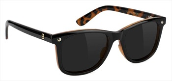 Glassy Sunhaters Mikemo Premium Polarized Sunglasses, Black/Tortoise