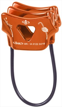 Beal Air Force 2 Rock Climbing Belay Device, Orange