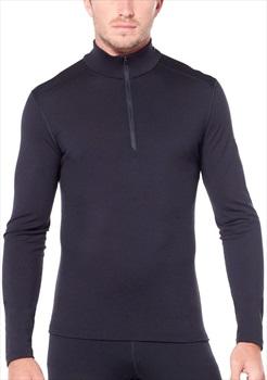 Icebreaker Bodyfit 200 Oasis Long Sleeve Half Zip, S Midnight Navy