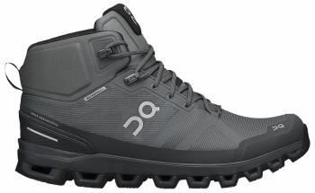 On Cloudrock Waterproof Men's Hiking Shoes, UK 11 Rock/Eclipse