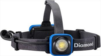 Black Diamond Sprinter LED Headtorch Adjustable Smoke Blue