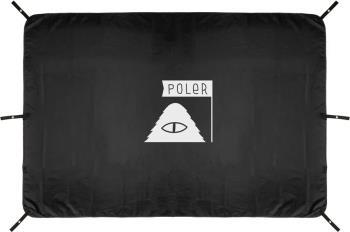 Poler 2 Man Magical Tent Footprint Waterproof Groundsheet, OS Black
