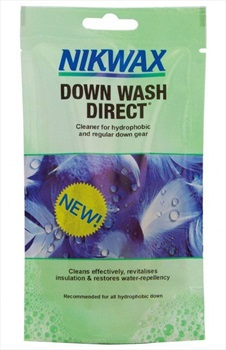 Nikwax Down Wash Direct Down Filled Clothing Cleaner, 100ml