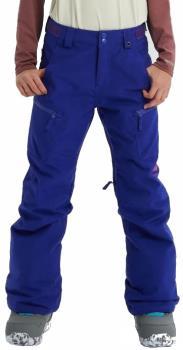 Burton Elite Cargo Girls Snowboard Pants, XS Royal Blue