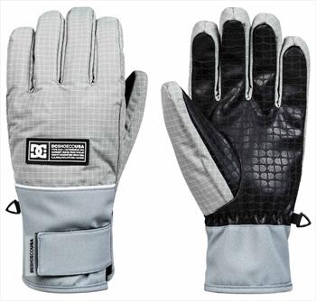 DC Franchise SE Ski/Snowboard Gloves, XL Neutral Grey