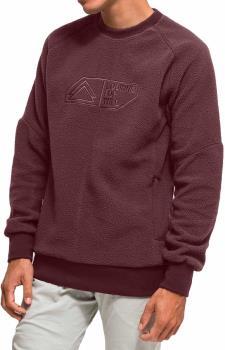 Looking For Wild Mouton Crew Pullover Sweatshirt, L Bordeaux
