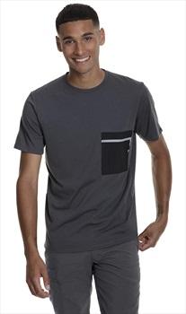 Berghaus Drakestone Pocket Short Sleeve T-Shirt, S Grey/Black