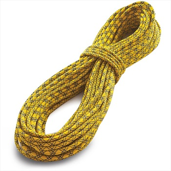 Tendon Ambition Rock Climbing Rope 50m x 8.5mm Yellow/Blue
