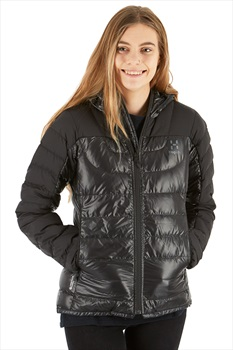Haglofs Bivvy Down Hood Women's Insulated Jacket, XS True Black