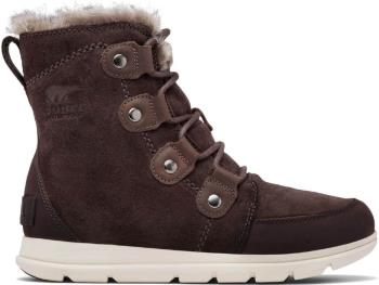Sorel Womens Explorer Joan Women's Winter Boots, Uk 4 Blackened Brown