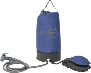 Bo-Camp Pressure Shower Portable Travel Shower + Pump, 11L Blue