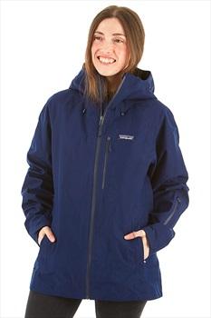 Patagonia Powder Bowl Women's Snowboard/Ski Jacket, S Classic Navy